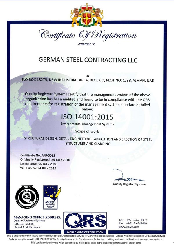 Welcome to German Steel Cont  LLC